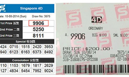 Singapore Pools 4D - How to pay a 42% tax - Clearly Surely Blog