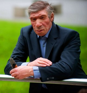 The Neanderthal insurance agent