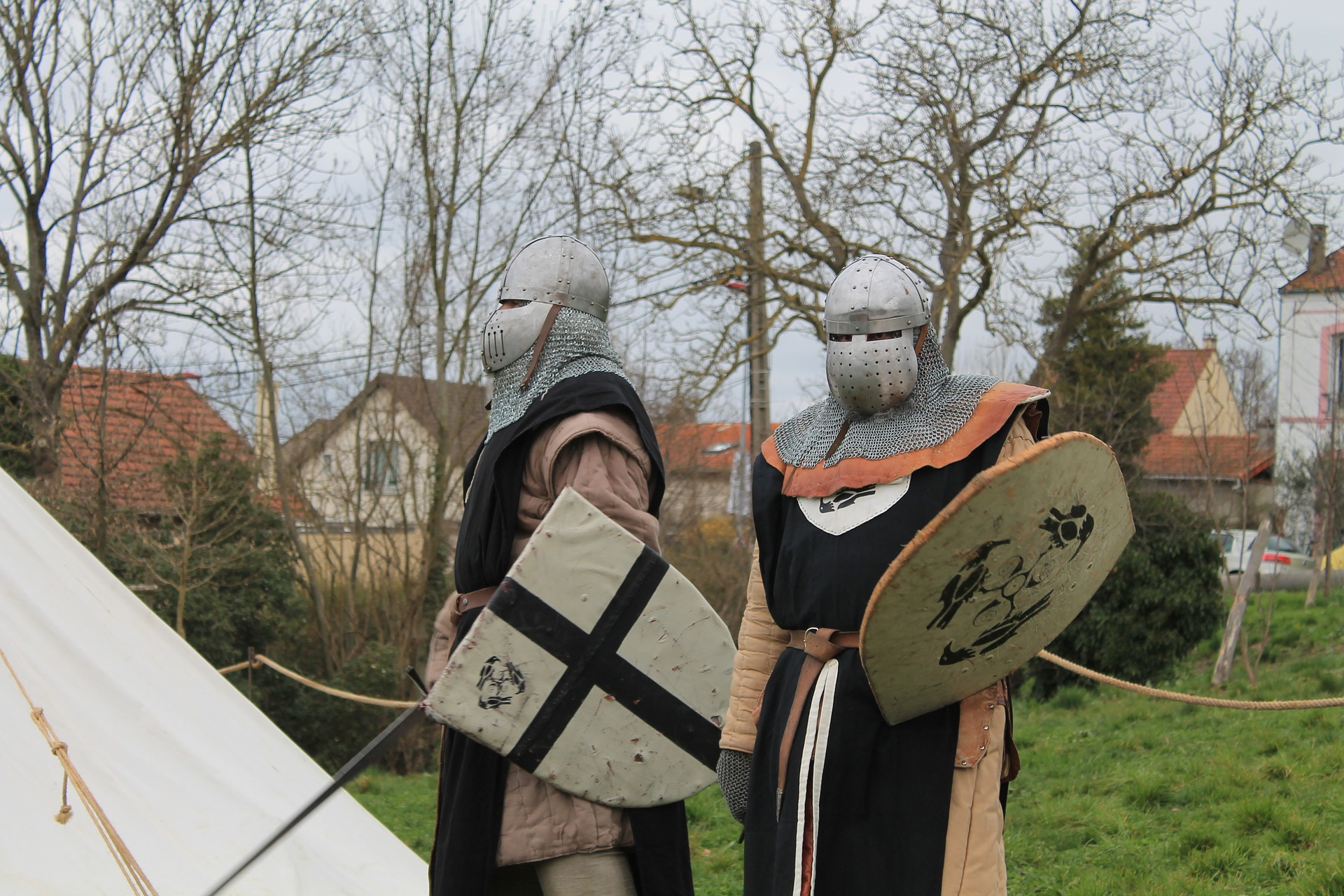 After 5 years, you will be fully covered like these knights