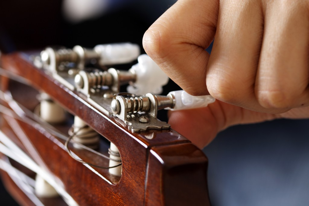 Tune it till it makes sweet, sweet music