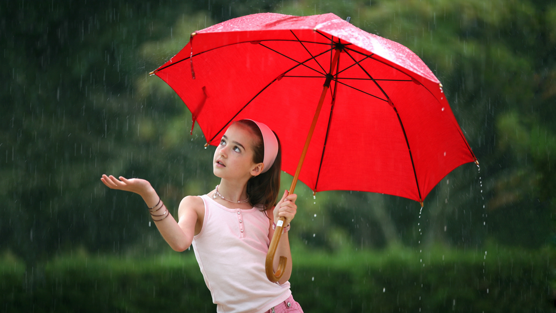 She sold her marshmallow to buy an umbrella for a rainy day