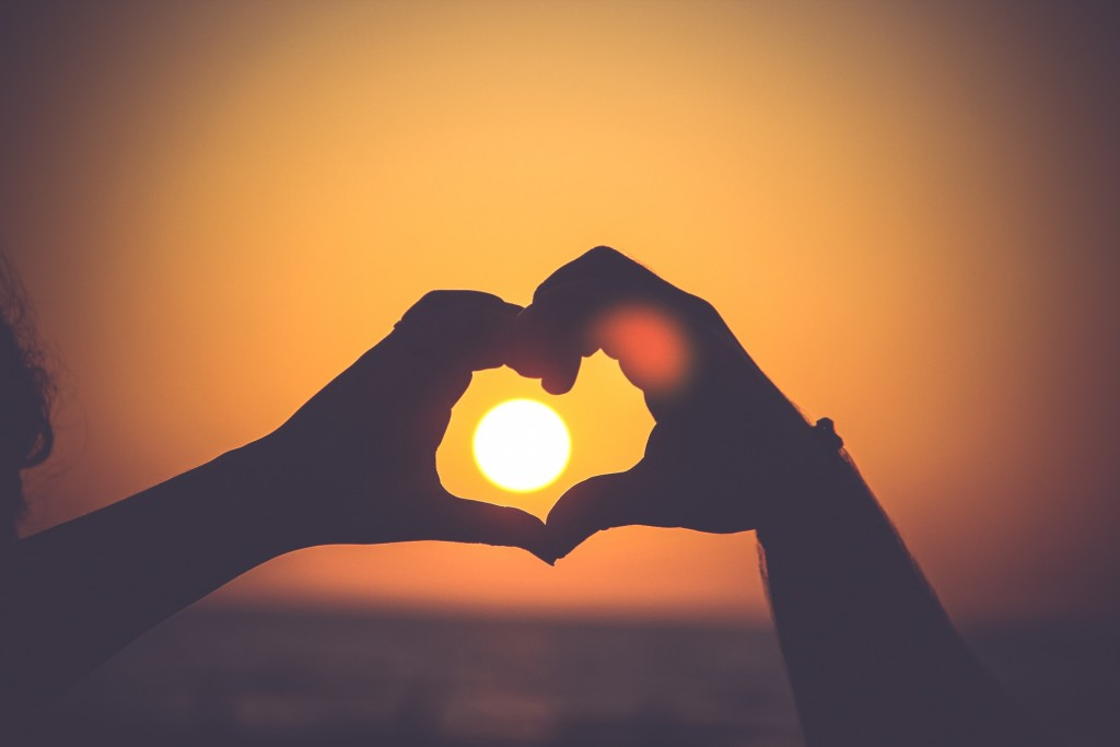Loving everyone under the sun.