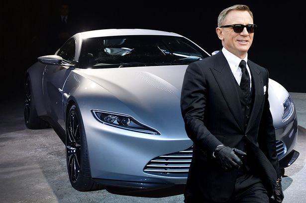 That's a Aston Martin. Still think 007 knows nuts about money?