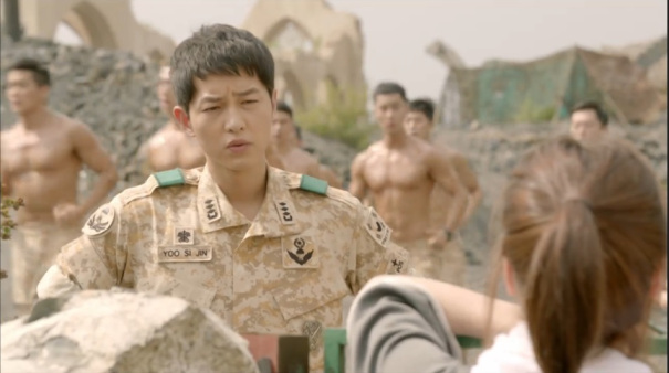 Joong Ki bewildered by this plan.