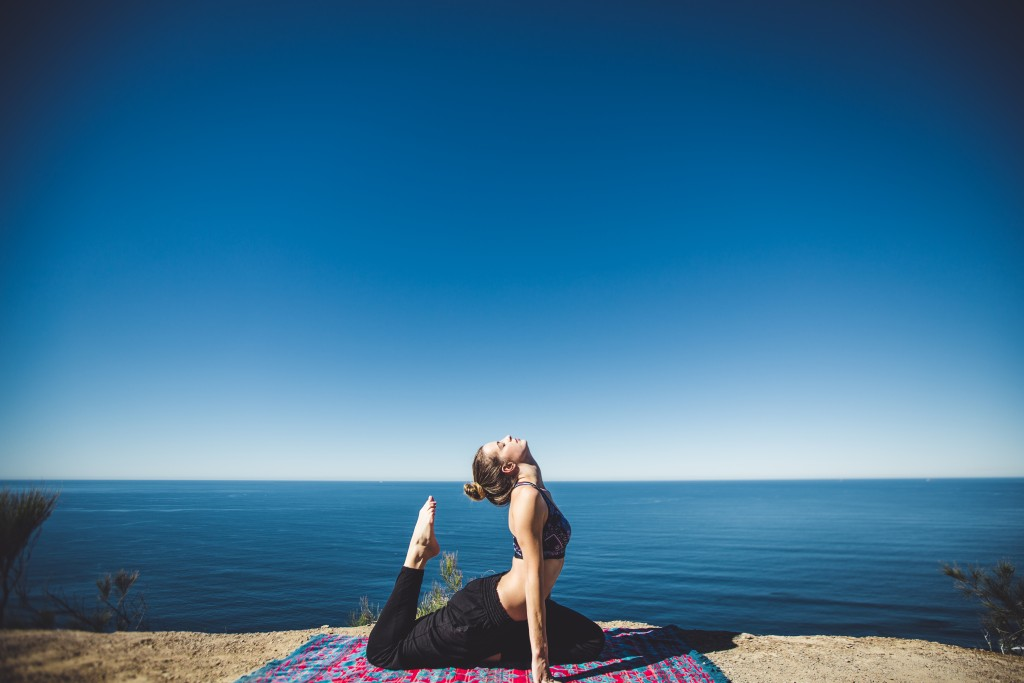 Get points when doing yoga.