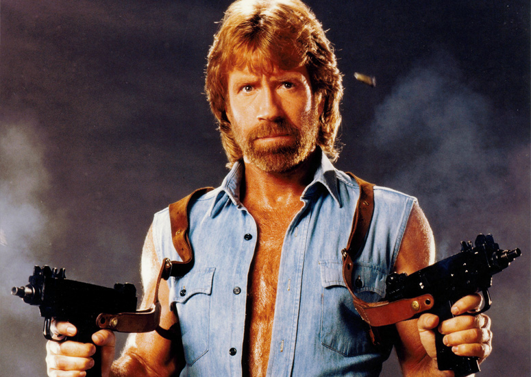 Rule no 1: You are no Chuck Norris.