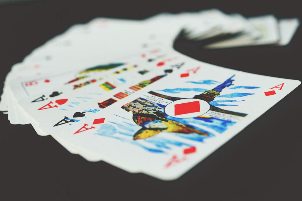 But sometimes you can be dealt a good hand.