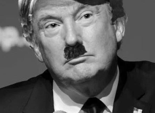 Adolf Trump or Donald Hitler?