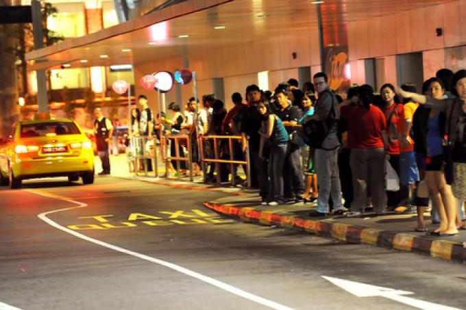 Long taxi queues with empty cabs zooming past are no longer a thing