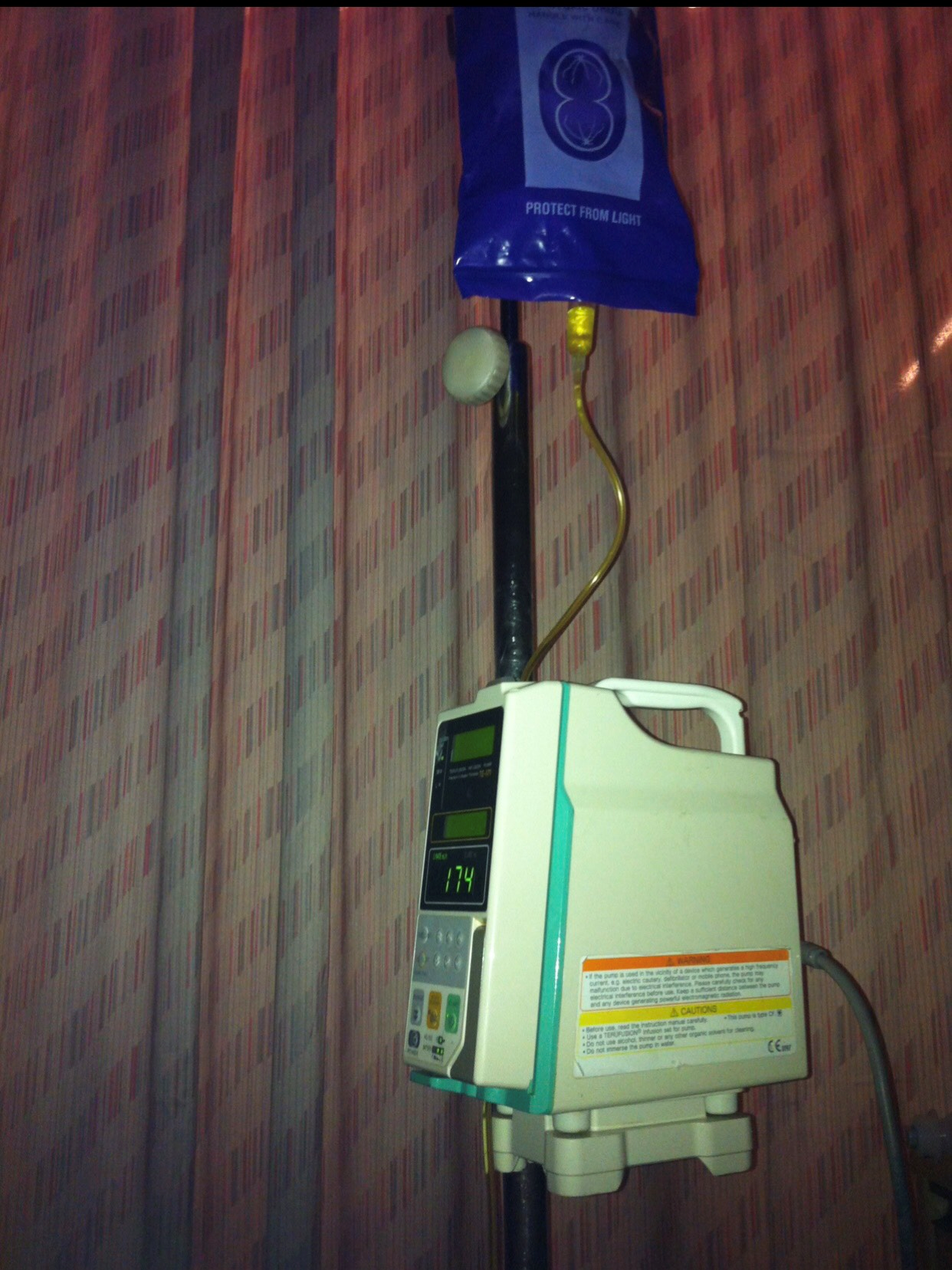 The chemo machine that saves and kills lives